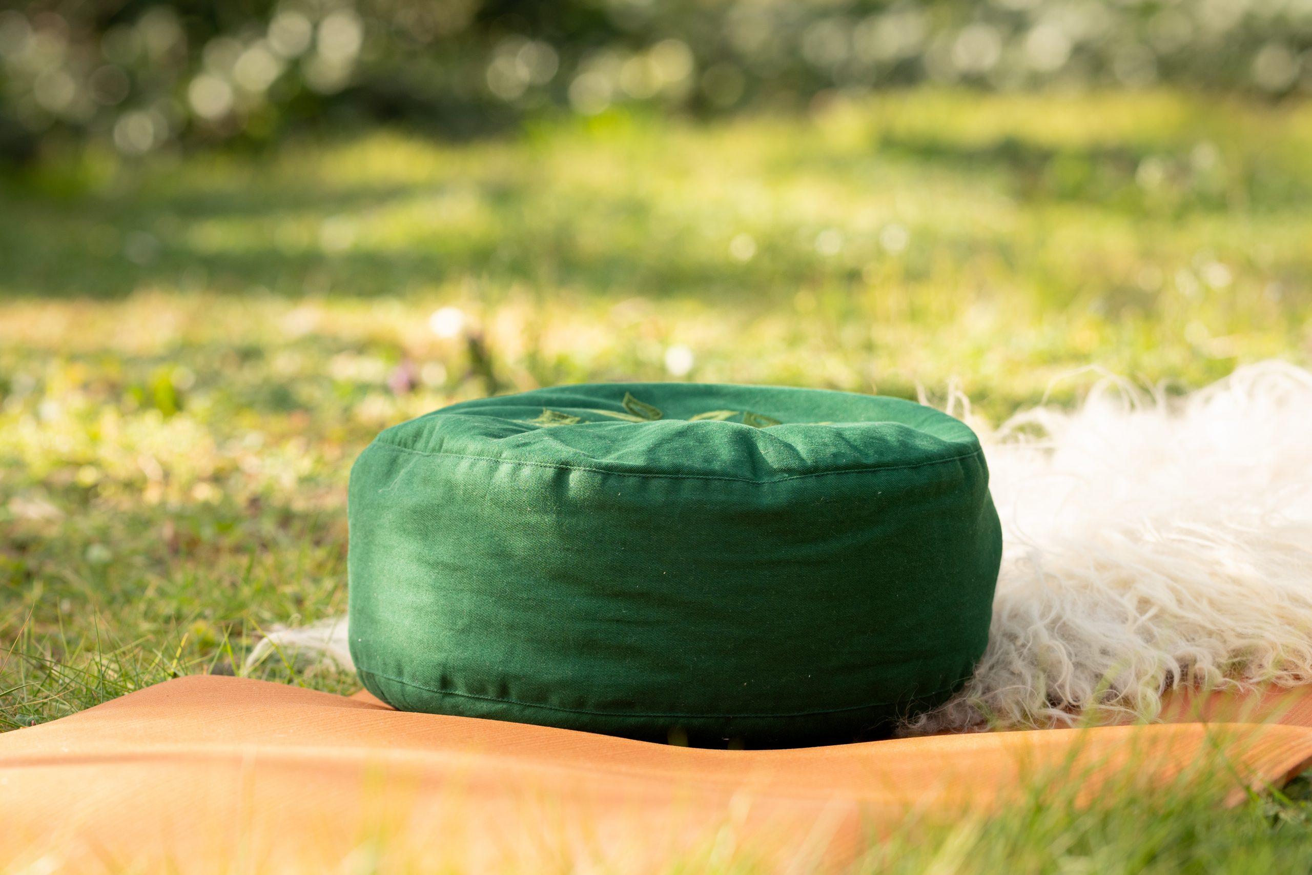 Yogamat-kussen-schapenvacht