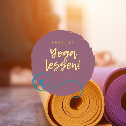 Heerlijke yoga lessen